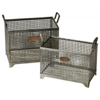 Butler Specialty Furniture | Rowley Iron Storage Basket Set | Bs2549016