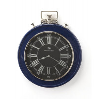 Butler Specialty Furniture | Sapphire Blue Finish Wall Clock | Bs6217365