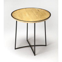 Butler Specialty Furniture | Brooke Iron & Wood Accent Table | Bs3848140