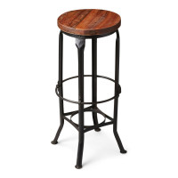 Butler Specialty Furniture | Abbott Industrial Chic Bar Stool | Bs1167025