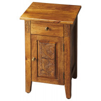 Butler Specialty Furniture | Webster Hand Carved Chairside Chest | Bs1841290