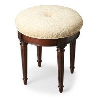 Butler Specialty Furniture | Bernadette Plantation Cherry Vanity Stool | Bs1250024