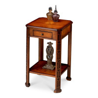 Butler Specialty Furniture | Moyer Olive Ash Burl Accent Table | Bs1486101