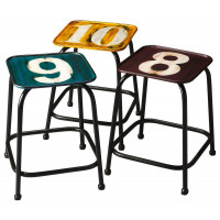 Butler Specialty Furniture | Trio Industrial Chic Stool Set | Bs5113330