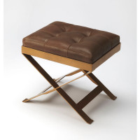 Butler Specialty Furniture | Rodrigo Leather Stool | Bs3644140