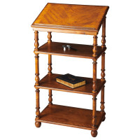 Butler Specialty Furniture | Alden Vintage Oak Library Stand | Bs1512001