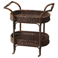 Butler Specialty Furniture | Fiji Rattan Serving Cart | Bs4230035