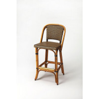 Butler Specialty Furniture | Lila Rattan Barstool | Bs3715354