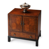 Butler Specialty Furniture | Courtland Cherry & Burl Accent Cabinet | Bs7008225