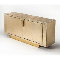 Butler Specialty Furniture | Francois Gold Leather Buffet | Bs3736350