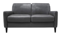 Luke Leather | Carlo Loveseat LLCarloLoveseat