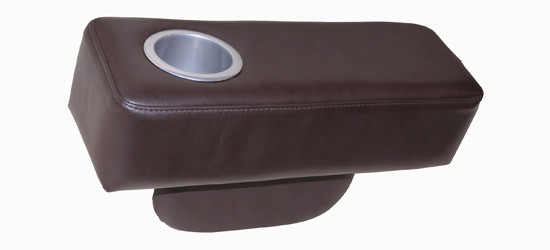 Jaymar Universal Armrest available in leather, fabric, or microfiber.