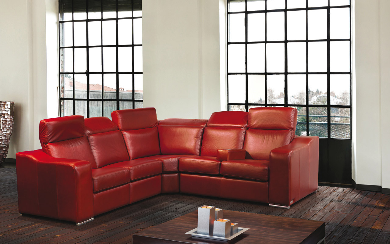 Jaymar Universal Armrest shown here with the Vanda Sectional.