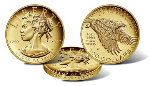 Gold Dollar Coin Set