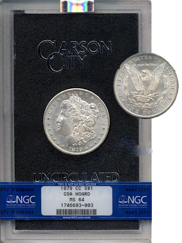 carson city silver morgan package