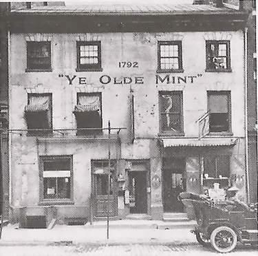 Historic mint building