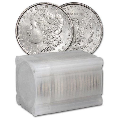 1921 Morgan Silver Dollar 20 coin roll