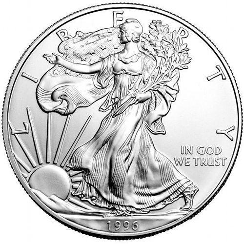 1996 American Eagle Silver Dollar