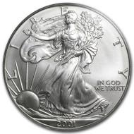 2001 American Eagle Silver Dollar
