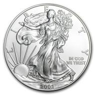 2002 American Eagle Silver Dollar