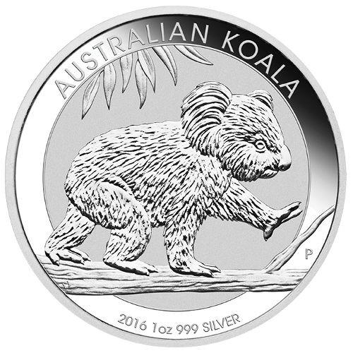 2016 Silver Koala from the Australian Mint