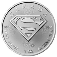 2016 Superman Silver coin reverse