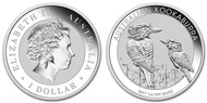 2017 Silver Kookaburra obverse and reverse