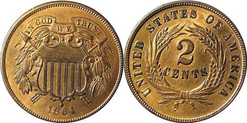 2 Cent Copper