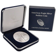 2018 American Silver Eagle in U.S. Mint Presentation Case