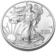 2018 American Silver Eagle- Roll of 20