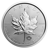 2018 $5 Canadian Silver Maple Leaf