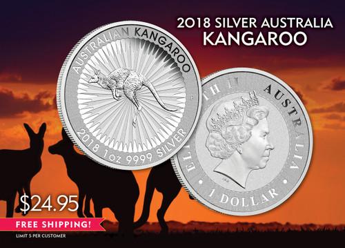 2018 Australian Silver Kangaroo