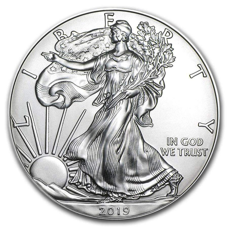 d06fb6c38 2019 Silver American Eagle - International Currency