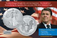Ronald Reagan Silver
