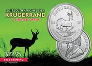 2019 Silver Krugerrand- 8EBKRU0219