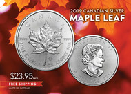 2019 Silver Maple Leaf