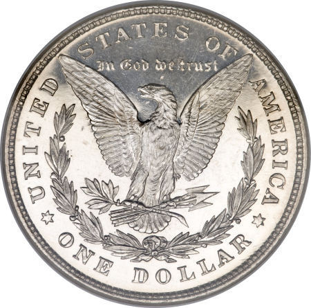1878-8 Tail Feathers Morgan Silver Dollar