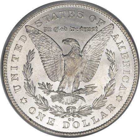 1878 Cc Morgan Silver Dollar Extremely Fine To Au