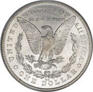 1878-CC Morgan Silver Dollar; Carson City Mint