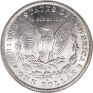 1884-O Morgan Silver Dollar; New Orleans Mint