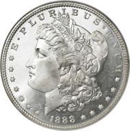 1888-O Morgan Silver Dollar; New Orleans Mint