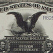 1899 $1 Black Eagle collector note