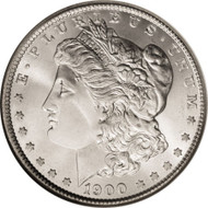 1900-O Morgan Silver Dollar; New Orleans Mint