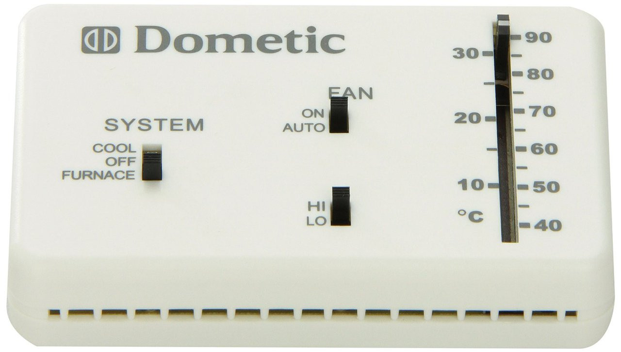 Dometic 3106995032 Analog Thermostat Duo Therm Mobile Home Furnace Wiring Heat Cool