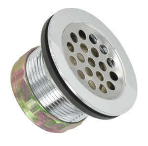 MOBILE HOME RV CAMPER 2 INCH TUB/SHOWER DRAIN STRAINER WITH RUBBER STOPPER NEW