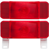 Set of Optronics RV Camper Trailer Tail Lights License Plate Stop Turn Brake