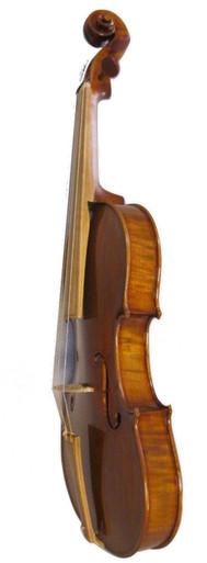 Calvert Soloist Baroque Model Violin (front and side)