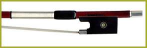 Marco Raposo Pernambuco Violin Bow Nickel Fittings, Made in Brazil 1