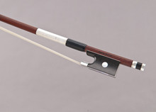 Georg Werner Master Violin Bow: Pernambuco, Round Shaft, Silver Winding, Germany