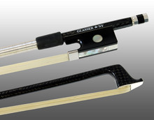 Glasser Braided Carbon Fiber Bow for Violin, Octagonal Stick